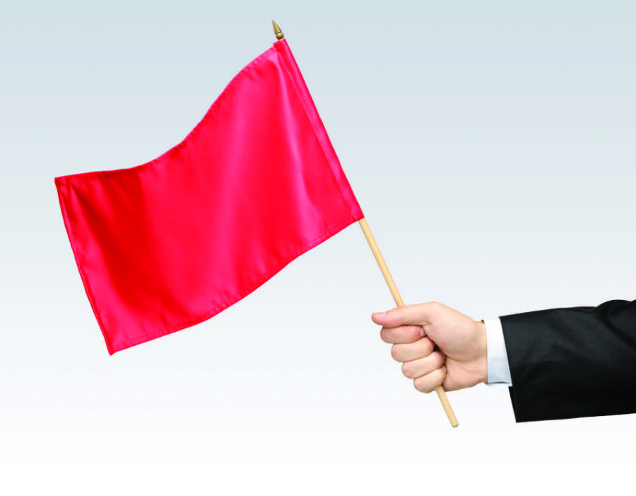 Red flags of dating a woman