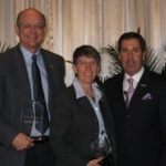 General, chiropractor receive awards