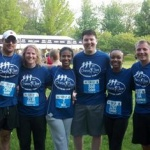 Chiros Care running team raises funds with participation in Chicago Half Marathon