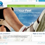 Foot Levelers launches new website
