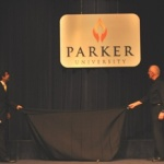 Parker University unveils new logo