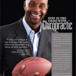 Jerry Rice recommits as spokesman for the Foundation for Chiropractic Progress