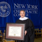 Charles DuBois awarded honorary degree from NYCC
