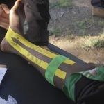 Sports chiropractic team, KT Tape donate $7,000 worth of Kinesiology Tape