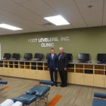 Foot Levelers' clinic opens at Logan College of Chiropractic