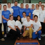 Icelandic Olympic team arrives at Anglo-European College of Chiropractic