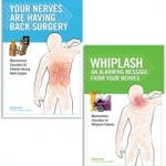 New patient handbooks explain whiplash, back surgery