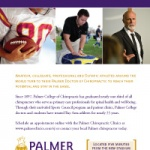 Palmer joins the NFL with ad in 49ers' 'Gameday' program