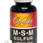 Carlson Laboratories improves MSM Sulfur supplement