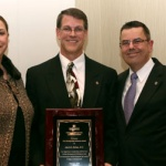 Mark Dehen, DC, named chiropractic Distinguished Alumnus of the Year