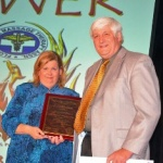 Anna Rodriguez receives Performance Health FSMTA 2013 Humanitarian Award
