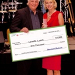 Lynelle Lynch receives 2013 One Concept/Performance Health Humanitarian Award