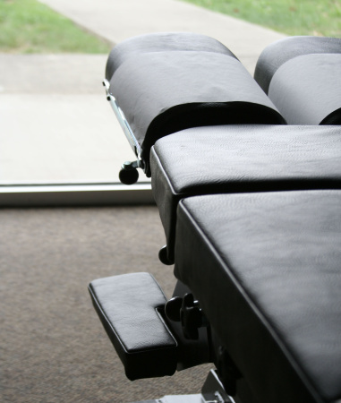 Chiropractic table parts, accessories expand options for patients