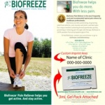 Biofreeze sample program announced by Performance Health