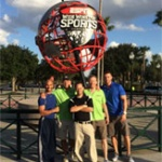 NUHS interns provide support for athletes at Walt Disney World Marathon