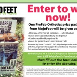Chiropractic Economics and MojoFeet partner up for July Facebook giveaway