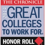 NYCC leading the pack: 6-time Chronicle of Higher Education 'Great Colleges to Work For' list