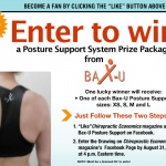 Chiropractic Economics teams up with Bax-U for August Facebook giveaway