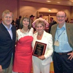 Debra Hoffman, DC receives 2014 humanitarian award
