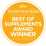 Carlson Laboratories wins Better Nutrition's Best of Supplements award for 2014