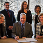Canadian Memorial Chiropractic College and University of Toronto sign historic Memorandum of Understanding
