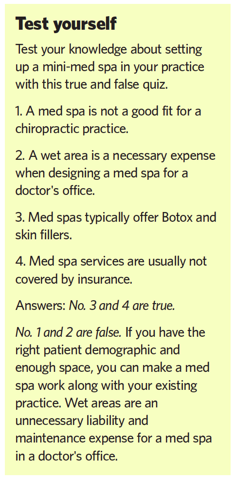 Med Spa Option_Test Yourself
