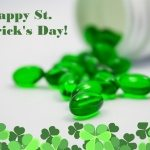 All green supplements for St. Patrick's Day