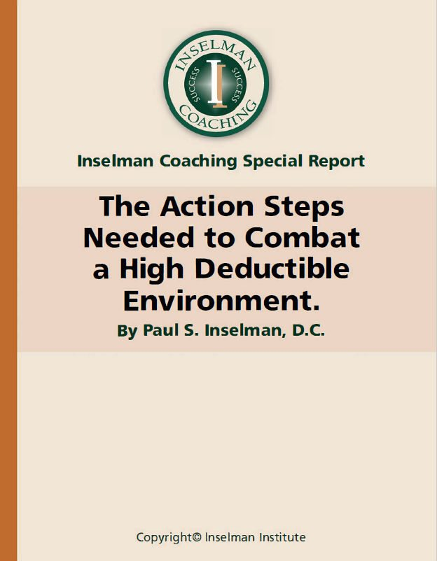 The Action Steps Needed to Combat a High Deductible E-Book