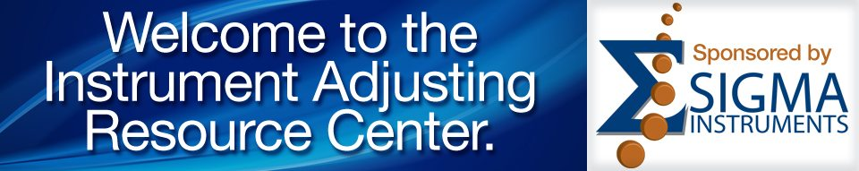 Instrument Adjusting Resource Center