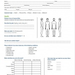 Foot Levelers Patient Intake Form