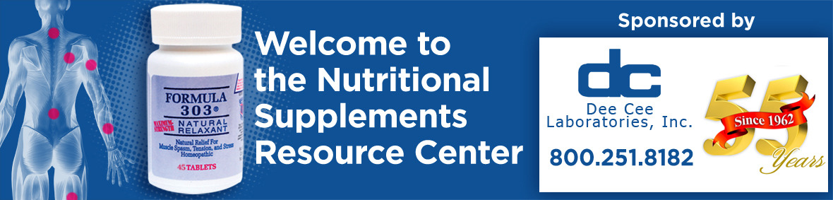 Nutritional Supplements Resource Center