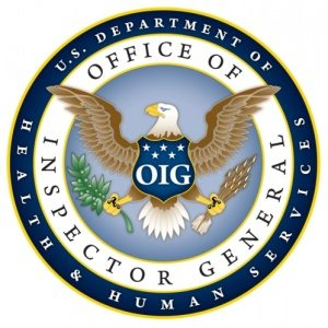 Office of Inspector General, U.S. Department of Health and Human Services. (PRNewsFoto/Office of Inspector General Department of Health and Human Services)