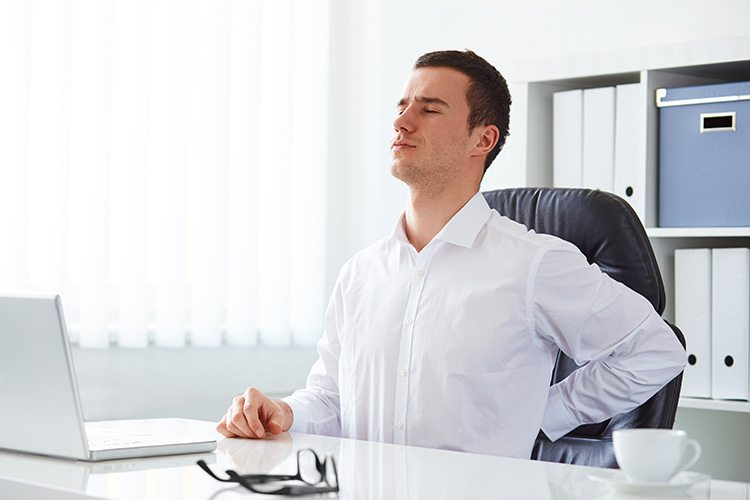 Help your patients with these good posture tips
