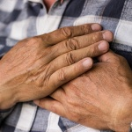 Treating chronic chest pain with an everyday DC practice
