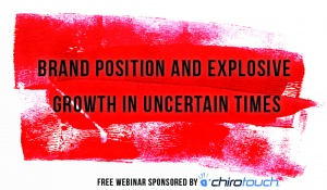 Brand position and explosive growth in uncertain times