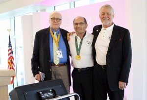 Five-time Olympic team chiropractor receives centennial Olympic gold medal
