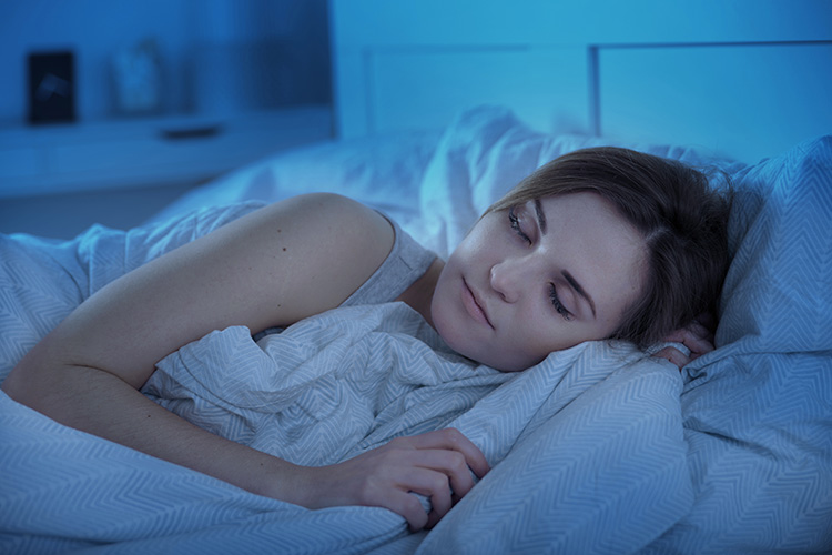 Establishing a bedtime routine for you and your patients