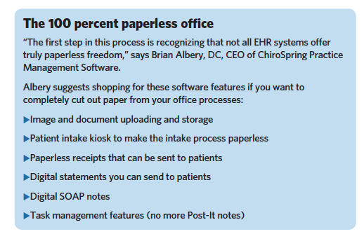 Your love of paper could be the downfall of your practice ehr software can be a large investment and practices need to do in depth research to ensure that they choose the right product fandeluxe Gallery
