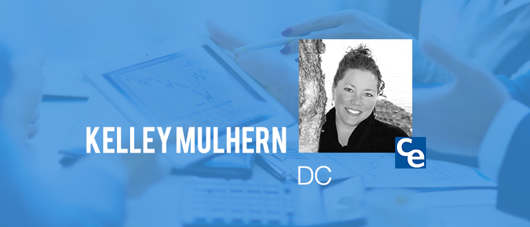 "Welcome to ""The Future Adjustment"" podcast series on what's new and notable in the world of chiropractic. And our guest today is Kelley Mulhern, DC"