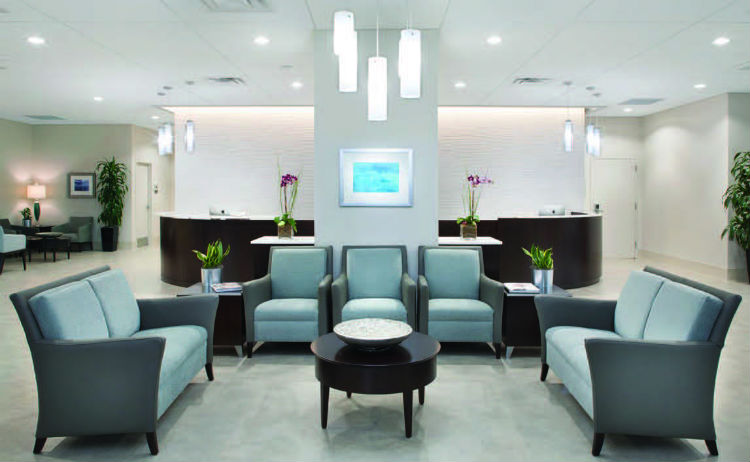"For a chiropractic office design , efficiency is achieved through comprehensive understanding of the ""function,"" while effectiveness of the space is accomplished through the creation of the ""form"" that conveys the practice mission and desired image and creates a culture."