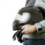 That motorcycle helmet just may save your spine