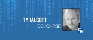 """Welcome to """"The Future Adjustment,"""" Chiropractic Economics podcast series on what's new and notable in the world of chiropractic. And our guest today is Ty Talcott, DC. He is the president of HIPAA Compliance Services. And he's a certified HIPAA privacy and security expert."""