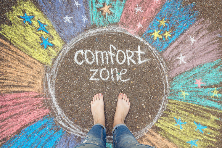 How to get out of your comfort zone and how that could change your life. The question that many have is how to start pushing the envelope.