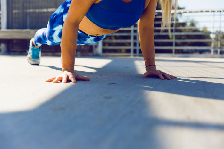 How do you stay active on warm summer days, when you're more susceptible to potentially overheating? One option is an indoor fitness routine.