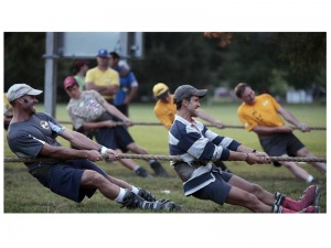 USA Tug-Of-War team opens training center on campus