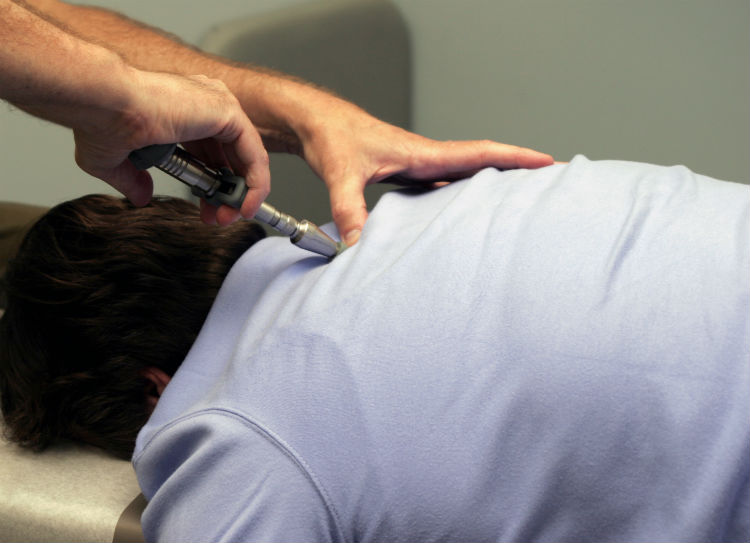 The Activator Method, is a chiropractic modality that uses a small handheld device to deliver fast, low-force impulses to specific areas of the spine.