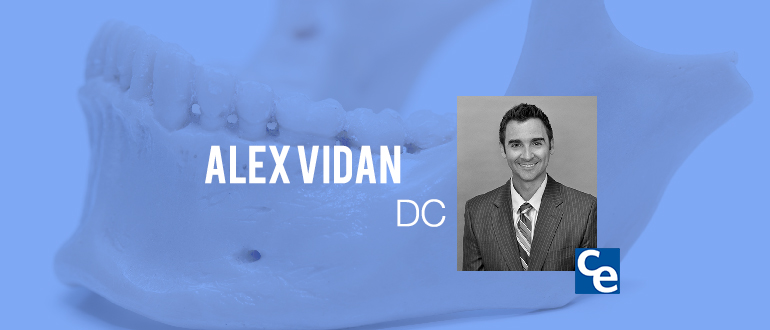 Join our podast today to listen to Alex Vidan, DC talk about TMJ patients