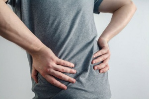 Low back pain is often caused by problems in the pedal foundation