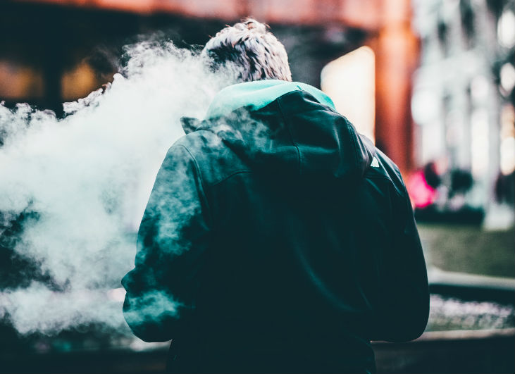 A chiropractic patient who needs to be educated on the dangers of e-cigarettes