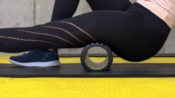 A foam roller is a good addition to any rehab kit at home